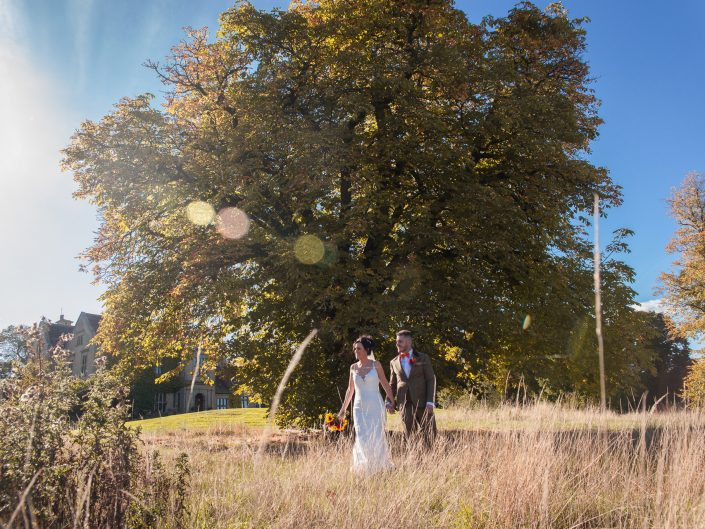 Featured wedding – Athena & Jack at Bagden Hall