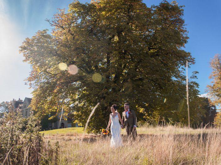 Featured wedding - Athena & Jack at Bagden Hall